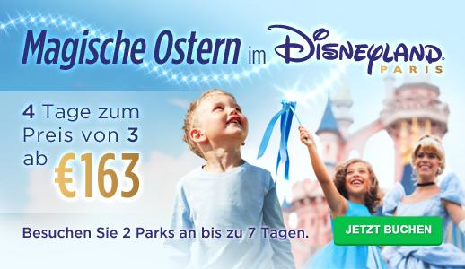 Magische Ostern im Disneyland Paris