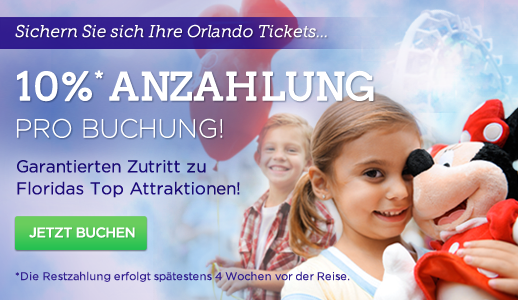 Attraction Tickets Direct Anzahlung