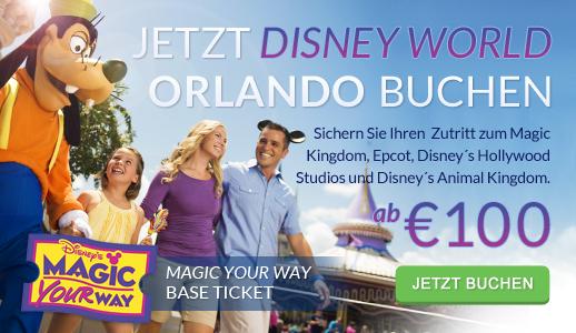 Disney Orlando Tickets ab €100