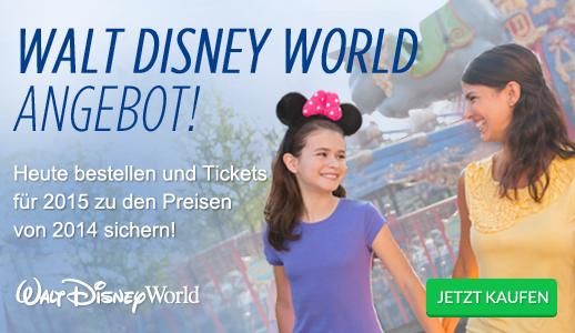 Walt Disney World Angebot