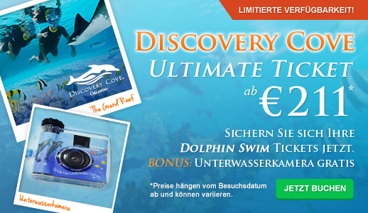 Discovery Cove Ultimate Ticket