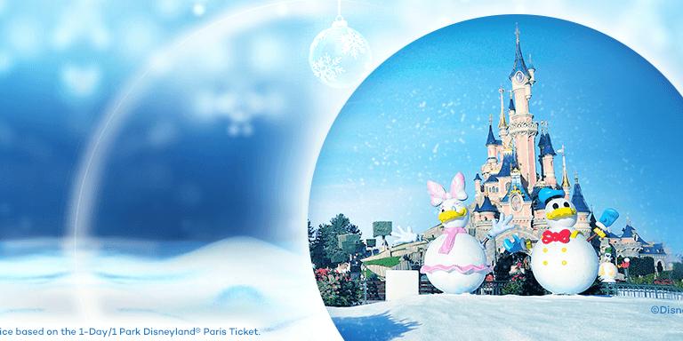 Feiern Sie Disneys verzaubertes Weihnachten in Disneyland® Paris