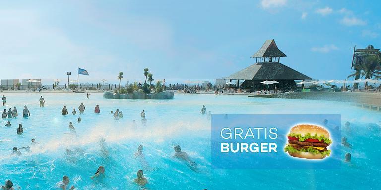 GRATIS Burger mit jedem Siam Park Ticket logo