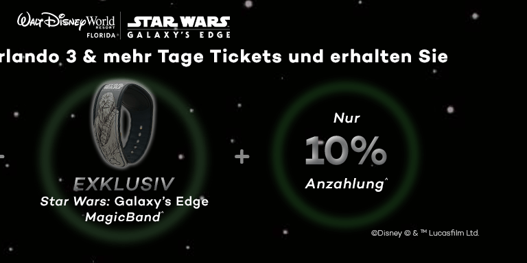 EXKLUSIVES Star Wars: Galaxy's Edge MagicBand