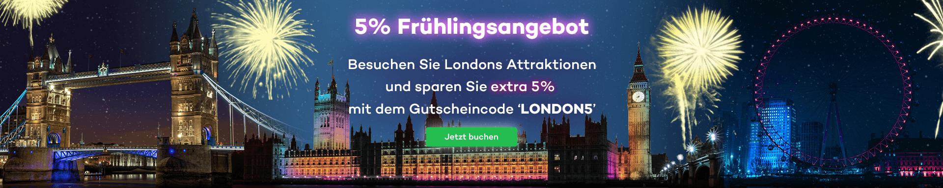 Unser Frühlingsangebot - London zum Sparpreis