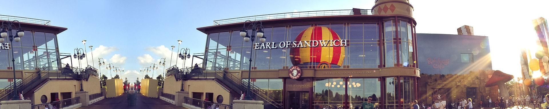 GRATIS 15% Discount Card für Earl of Sandwich in Disneyland® Paris