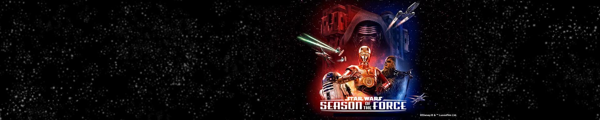 Star Wars - Die Zeit der Macht im Disneyland® Paris!