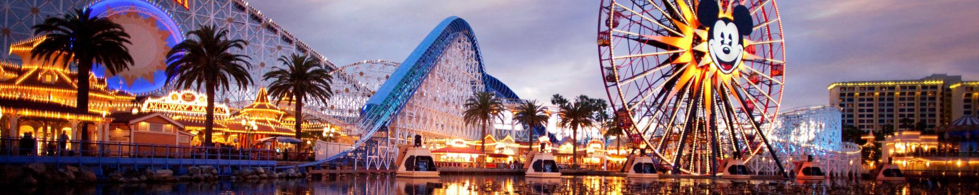 Disneyland California - Sparen Sie bis zu 20%