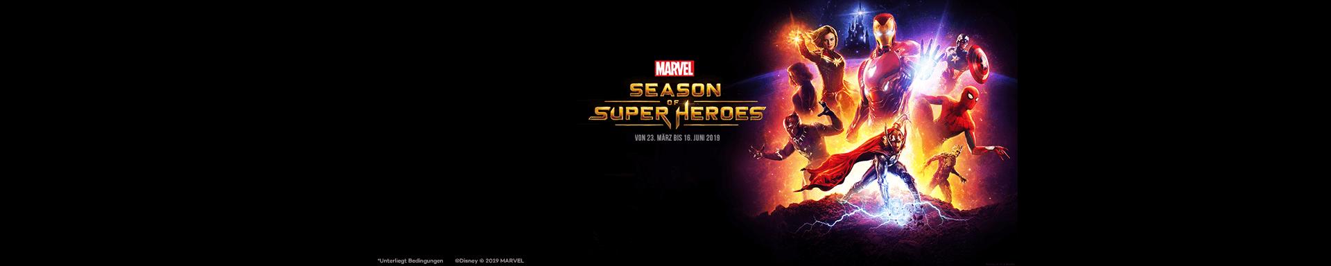 Marvel Saison der Superhelden in Disneyland® Paris