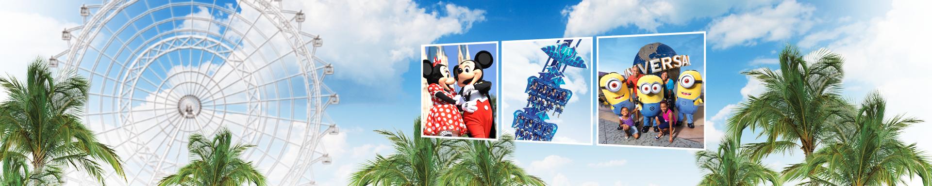Das Beste von Disney, SeaWorld & Universal mit dem Best of Orlando Ticket!